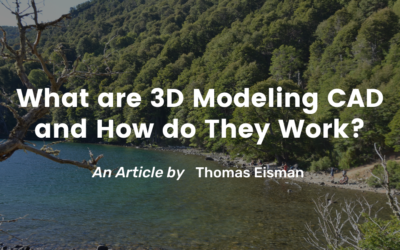 What are 3D modeling CAD and How do They Work?